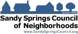 Sandy Springs Council of Neighborhoods